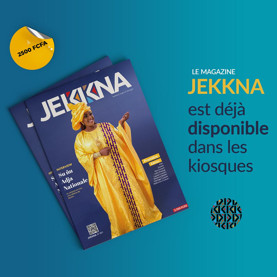 JEKKNA Magazine N001 – Disponible
